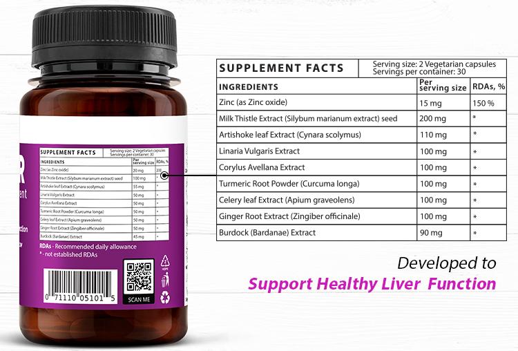 ViteDox Liver| Liver Health Supplement