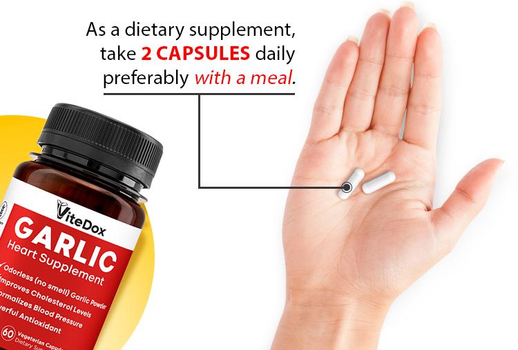 ViteDox Garlic | Heart Health Supplement